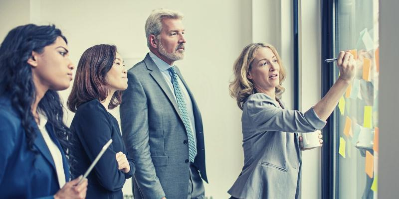Involve employees and communicate the process